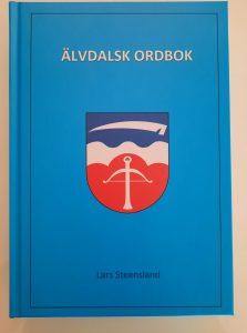 Framsidan av boken Älvdalsk ordbok.
